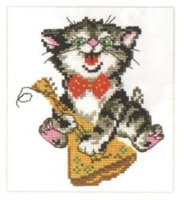 click here to view larger image of Solo (counted cross stitch kit)
