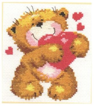 click here to view larger image of For You (counted cross stitch kit)
