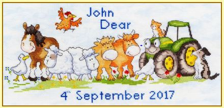 click here to view larger image of First Born (counted cross stitch kit)