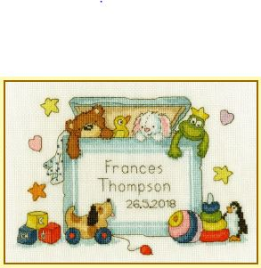 click here to view larger image of Toy Box (counted cross stitch kit)
