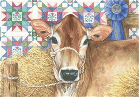 click here to view larger image of Quilt Cow (chart)