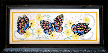 click here to view larger image of Playful Butterflies (chart)