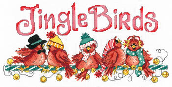 click here to view larger image of Jingle Birds (chart)