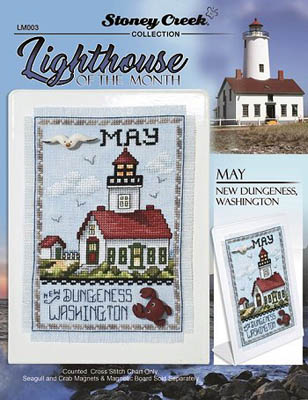 click here to view larger image of Lighthouse Of The Month - May (chart)