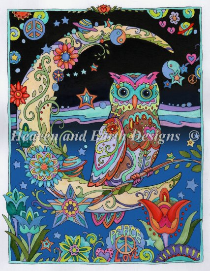 click here to view larger image of Crescent Moon Owl (chart)