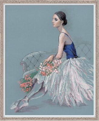 click here to view larger image of Ballet Dancer (counted cross stitch kit)