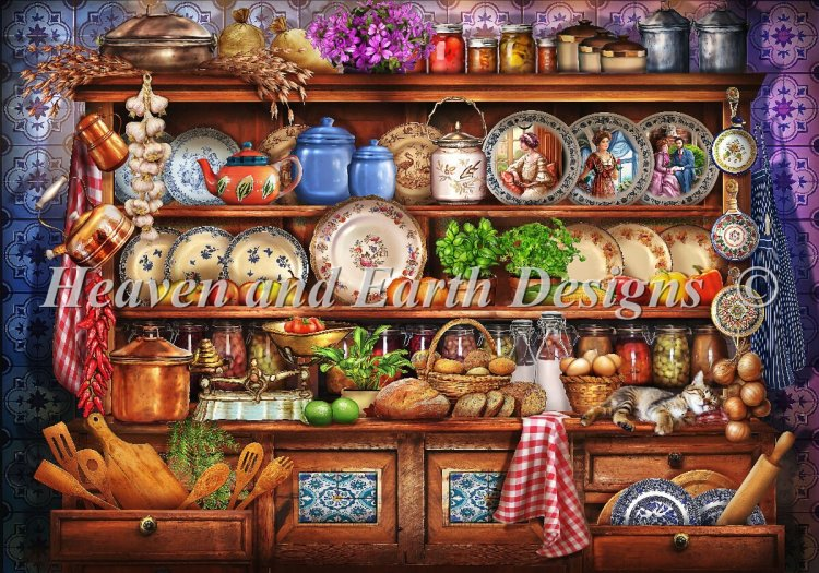 click here to view larger image of Mini Ye Old Kitchen (chart)