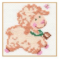 click here to view larger image of Biasha (counted cross stitch kit)