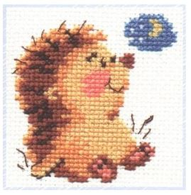 click here to view larger image of Good Night (counted cross stitch kit)