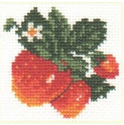 click here to view larger image of Strawberry (counted cross stitch kit)