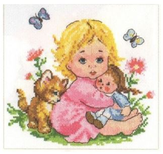 click here to view larger image of Alionka (counted cross stitch kit)