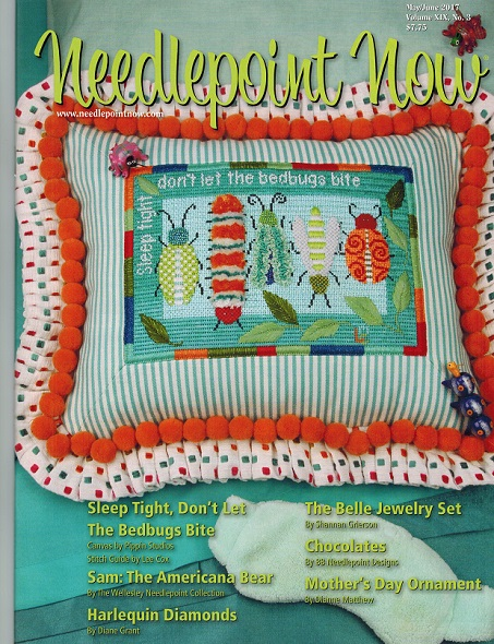 click here to view larger image of Needlepoint Now May/June 2017 (magazines)