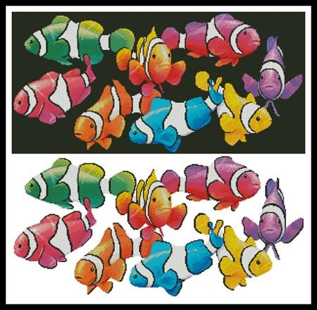 click here to view larger image of Colourful Clownfish (chart)