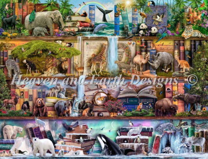 click here to view larger image of Supersized The Amazing Animal Kingdom Max Color (chart)