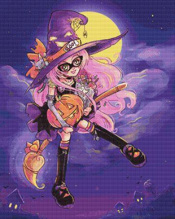 click here to view larger image of Candy Witch (chart)