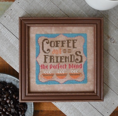click here to view larger image of Coffee And Friends - Cool Beans 5 (chart)