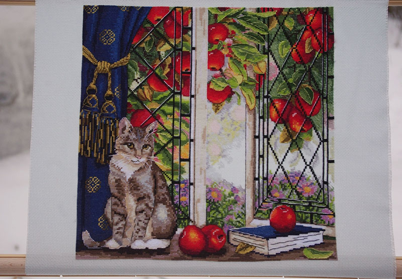 click here to view larger image of Early Autumn (counted cross stitch kit)