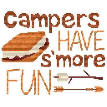 click here to view larger image of Campers Have S'more Fun (chart)