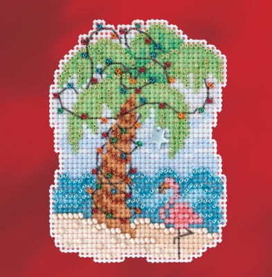 click here to view larger image of Christmas Palm - 2017 Winter Series (counted cross stitch kit)