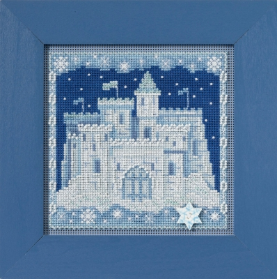 Ice Castle - click here for more details about counted cross stitch kit