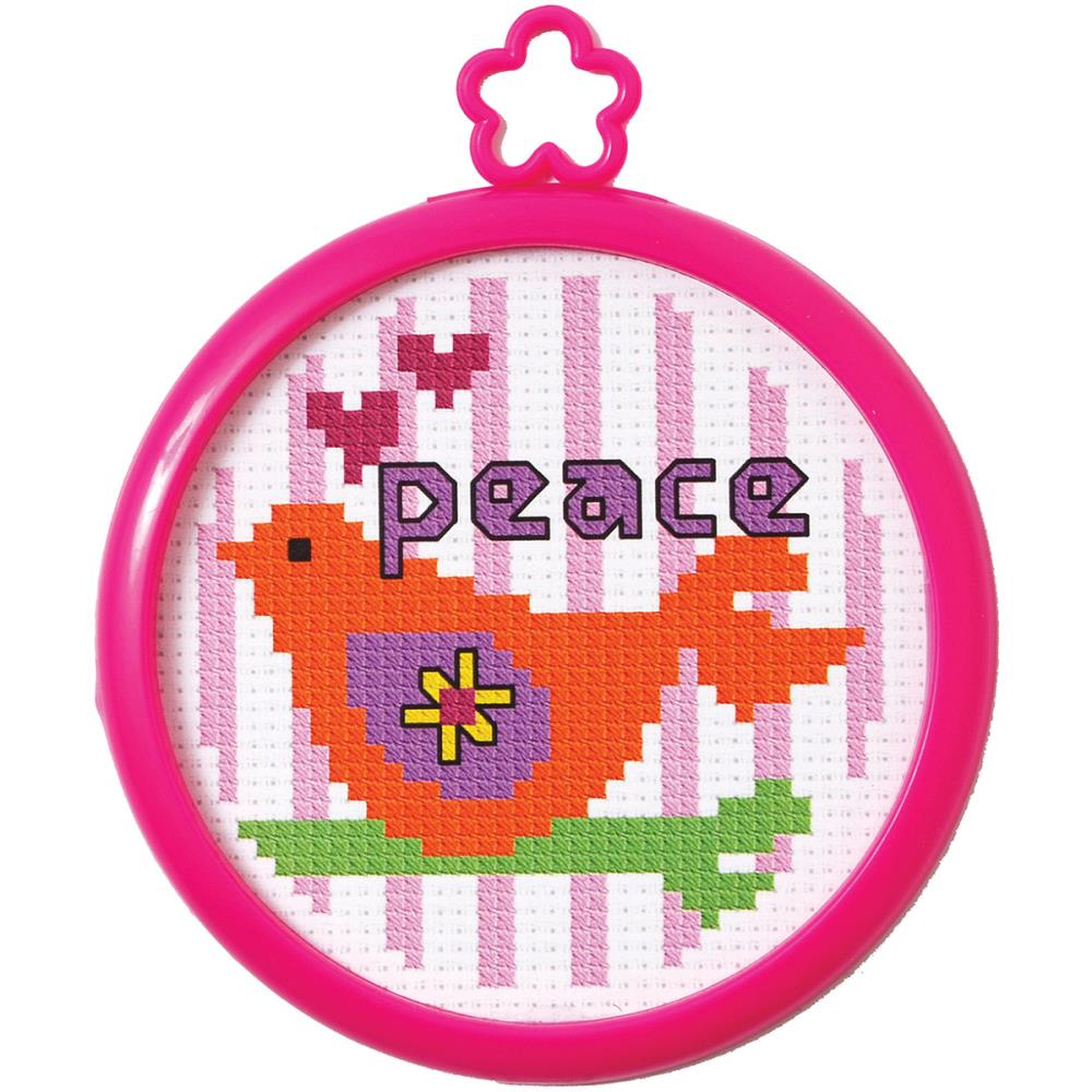 click here to view larger image of My 1st Stitch Peaceful Dove (counted cross stitch kit)