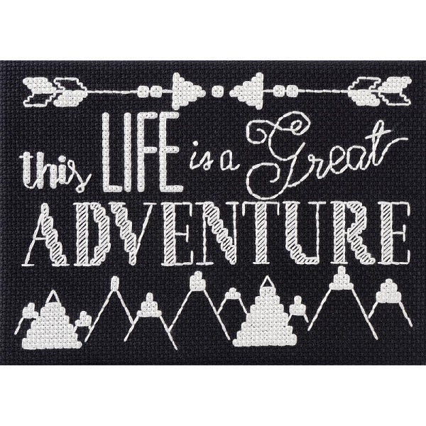 click here to view larger image of My 1st Stitch - Great Adventure (counted cross stitch kit)