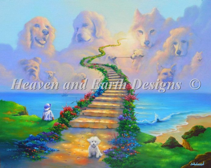 click here to view larger image of Mini All Dogs Go To Heaven (chart)