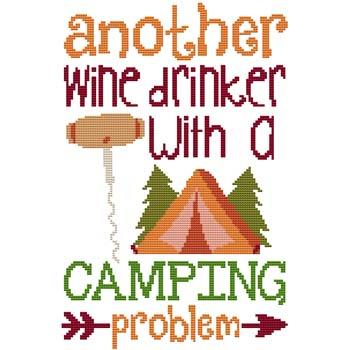 click here to view larger image of Wine Drinker... Camping Problem (chart)