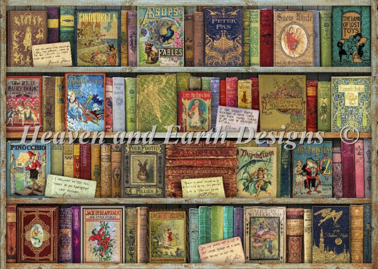 click here to view larger image of Bountiful Bookshelf (chart)