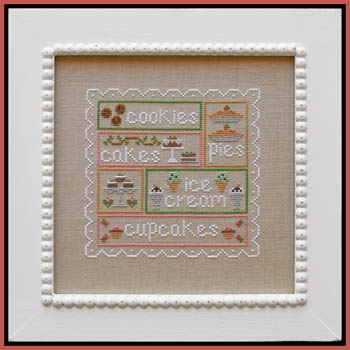 click here to view larger image of Sweet Sampler (chart)