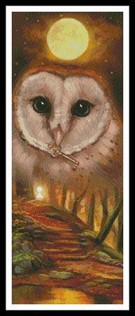 click here to view larger image of Autumn Owl  (Elena Samorydova) (chart)