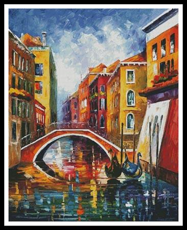 click here to view larger image of Venice Bridge (Large)  (Leonid Afremov) (chart)