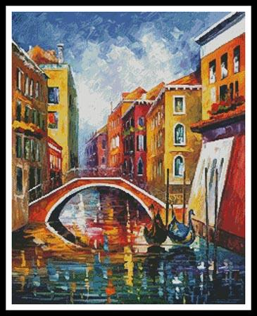 click here to view larger image of Venice Bridge  (Leonid Afremov) (chart)