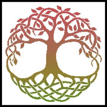 click here to view larger image of Celtic Tree Of Life 4 (chart)