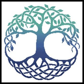 click here to view larger image of Celtic Tree Of Life 3 (chart)