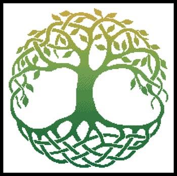 click here to view larger image of Celtic Tree Of Life 1 (chart)
