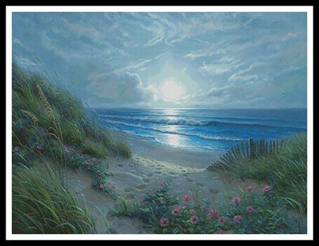 click here to view larger image of Evening Glories (Large)  (Mark Keathley) (chart)