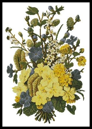 click here to view larger image of Spring Flowers Bouquet (chart)