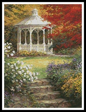 click here to view larger image of Garden Steps (Crop) (chart)