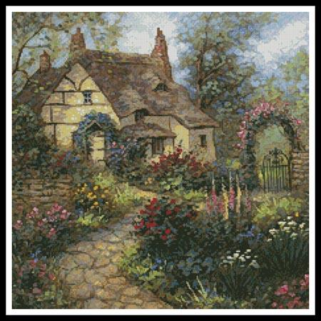 click here to view larger image of Cottage Garden (Crop) (chart)