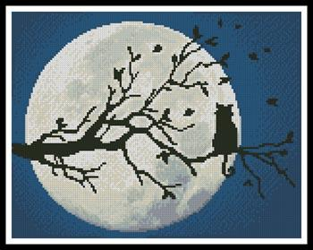click here to view larger image of Cat In The Moonlight  (Christy Miller) (chart)
