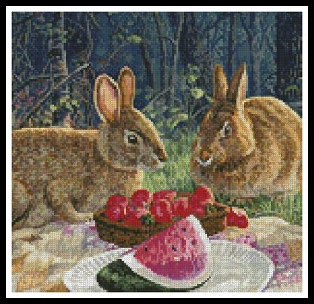 click here to view larger image of Sunny Bunnies (Crop 1) (chart)