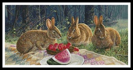 click here to view larger image of Sunny Bunnies (chart)