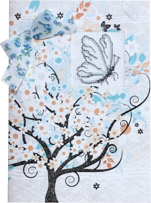 click here to view larger image of Butterfly Card (counted cross stitch kit)