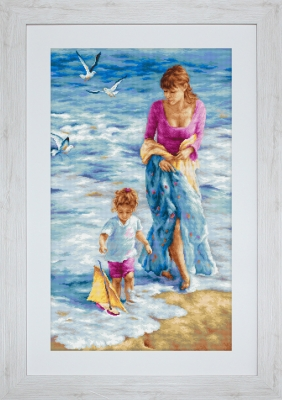 click here to view larger image of Precious Moment (counted cross stitch kit)