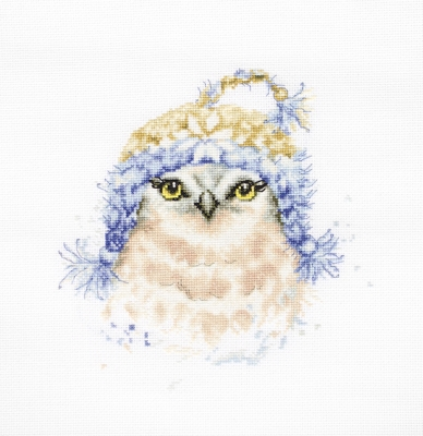 click here to view larger image of Owl, The (counted cross stitch kit)