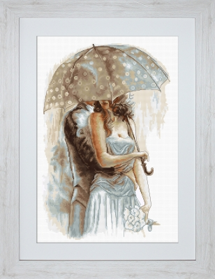 click here to view larger image of Under Umbrella II (counted cross stitch kit)