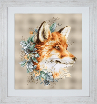 click here to view larger image of Fox, The (counted cross stitch kit)