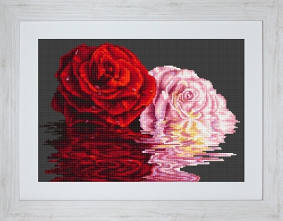 click here to view larger image of He And She (counted cross stitch kit)