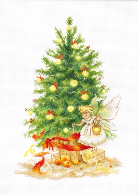 click here to view larger image of Christmas Tree (counted cross stitch kit)